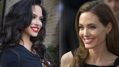 Looks Like Angelina Jolie Has A Doppelganger