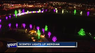 Scentsy lights up their campus for Christmas - Video