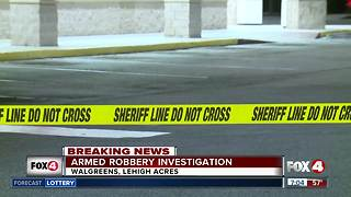 Armed robbery at Lehigh Acres Walgreens Friday morning - Video