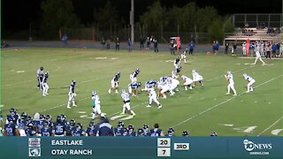 PREP FOOTBALL LIVE STREAM: Eastlake vs Otay Ranch