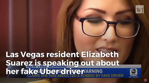 Woman Jumps from Moving Car To Escape Fake Uber Driver After Alleged Abduction