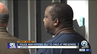 Man accused of exposing himself to 4-year-old girl