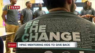 H-PAC mentoring students to give back - Video