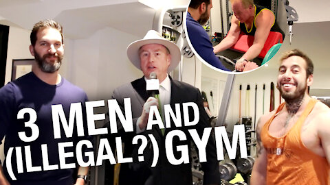 David Menzies gets physical with Chris Sky and Vince Del Monte