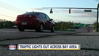 Alert: Widespread traffic signal outages pose danger to Tampa Bay drivers - Video
