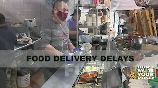Food Delivery Delays
