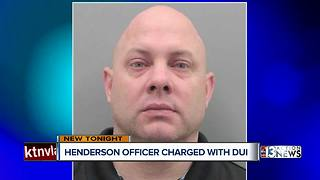Henderson police officer charged with DUI - Video