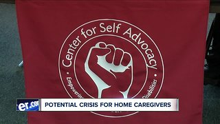 Potential crisis for home caregivers