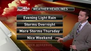 Dustin's Forecast 8-14 - Video