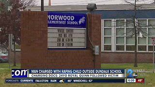 Convicted murderer charged with raping a child outside a Dundalk elementary school