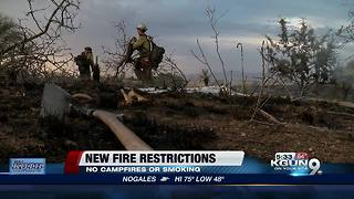New Arizona Fire Restrictions - Video