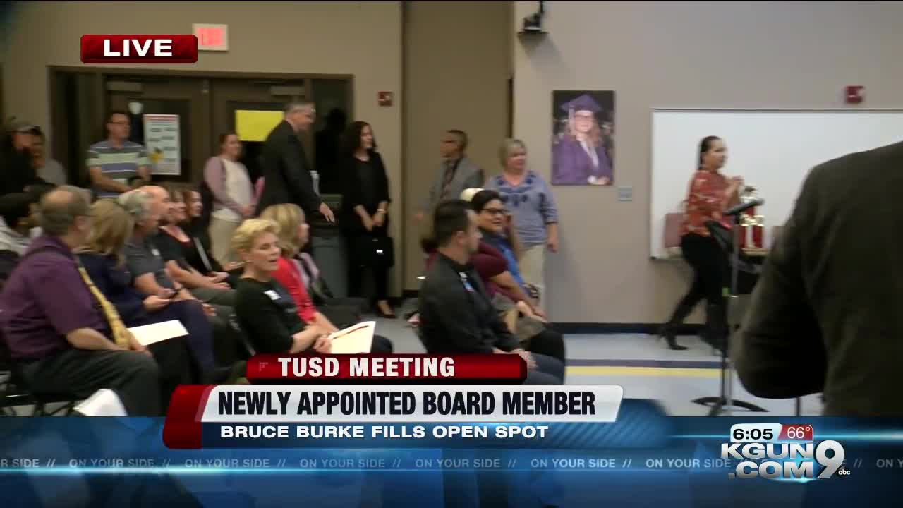 New TUSD Governing Board Member starts Tuesday