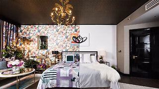 London Hotel Unveils World's First Half And Half Hotel Suite