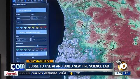 SDG&E to use AI in new fire science lab