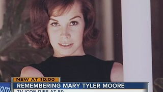 Iconic Mary Tyler Moore statue was made in Milwaukee - Video