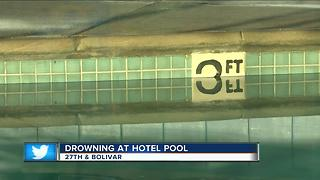 Milwaukee Fire Department responds to drowning at hotel pool, victim dies at hospital - Video
