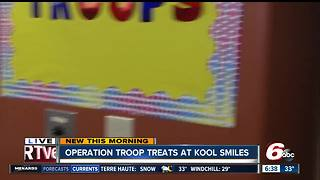 Operation Troop Treats at Kool Smiles Dental Office - Video