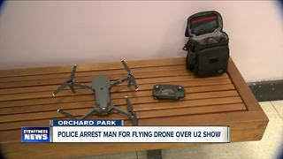 Orchard Park Police crack down on illegally flown drones - Video