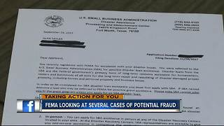 FEMA looking into several fraud cases - Video