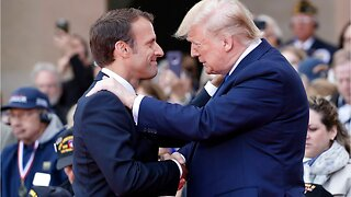 "Trump, Macron honour D-Day veterans who fought through ""Fires of hell"""