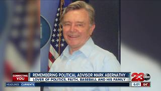 Political consultant Mark Abernathy dies - Video