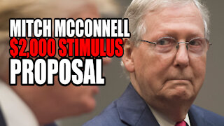 McConnell Introduces New $2K Stimulus Bill