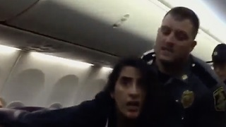 This Woman Decided She Wanted To Be Forcibly Removed From Plane - Video