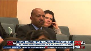 City council approves 'shotspotter' tech