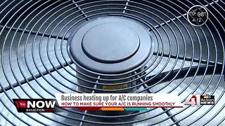 A/C businesses boom as heat wave presses on - Video