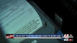 Police not ticketing drivers leads to $4.8M loss - Video
