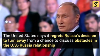 U.S. 'Regrets' Russian Decision to Cancel Talks - Video