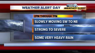Friday midmorning forecast - Video