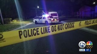 Burglary suspect shot by Fort Pierce officer - Video