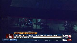 Summer camp illness sends 33 kids, 3 adults to hospital - Video