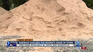 Sandbags available for Harford County residents prepping for Hurricane Florence