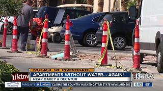 Apartments without water...again