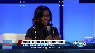 Michelle Obama goes on tour to launch memoir