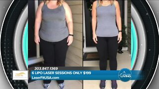 Try The Lipo Laser Today! // Laser Fit