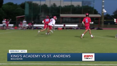 St Andrews lacrosse stays pefect