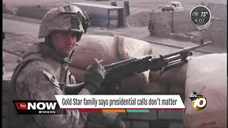 Father of fallen Marine weighs in on President's controversial comments about Gold Star families - Video
