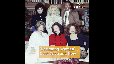 'Designing Women' Cast: Then and Now