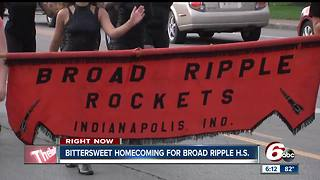 Broad Ripple High School holds what could be its final homecoming if the school is voted to close - Video