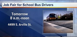 Job fair for school bus drivers
