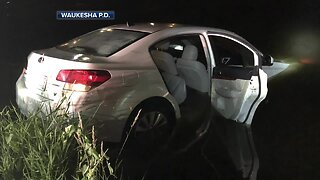 Teen rescued by senior after Waukesha crash, arrested for OWI