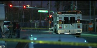 Police investigate fatal shooting in central Las Vegas