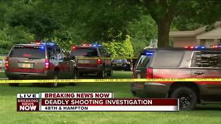 Deadly shooting in Wahl Park - Video