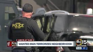 Police take suspect into custody after officer-involved shooting in Phoenix - Video
