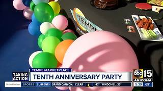Tempe Marketplace celebrating 10th anniversary with $10,000 in giveaways - Video