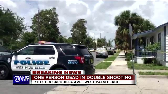 1 dead in West Palm Beach double shooting