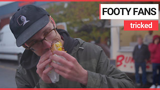Football fans fooled into eating meat-free burgers